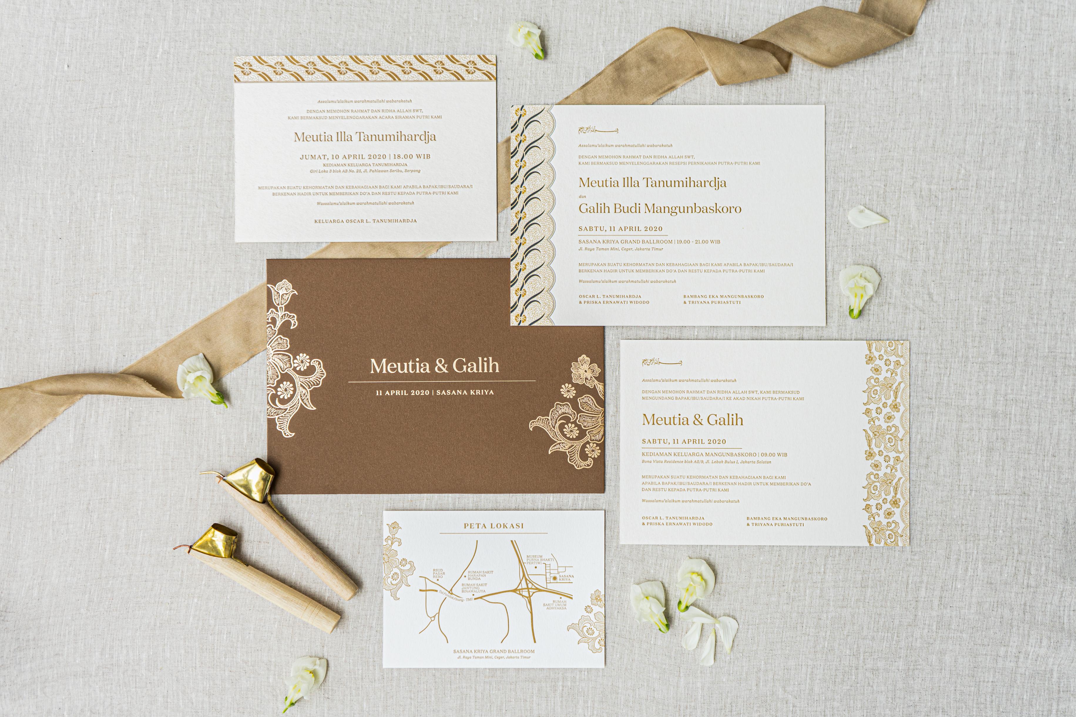 Desain Undangan Pernikahan Yang Bagus