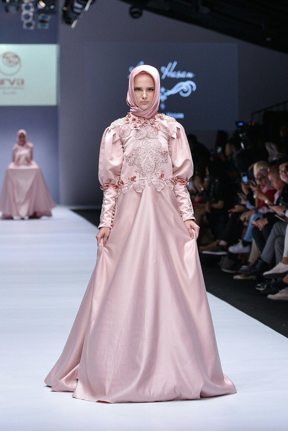 Foto Gaun Pengantin Muslimah Modern