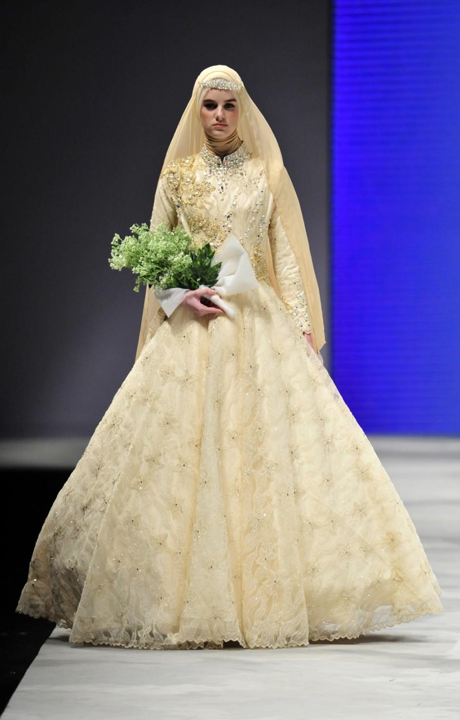 Foto Gaun Pengantin Muslimah