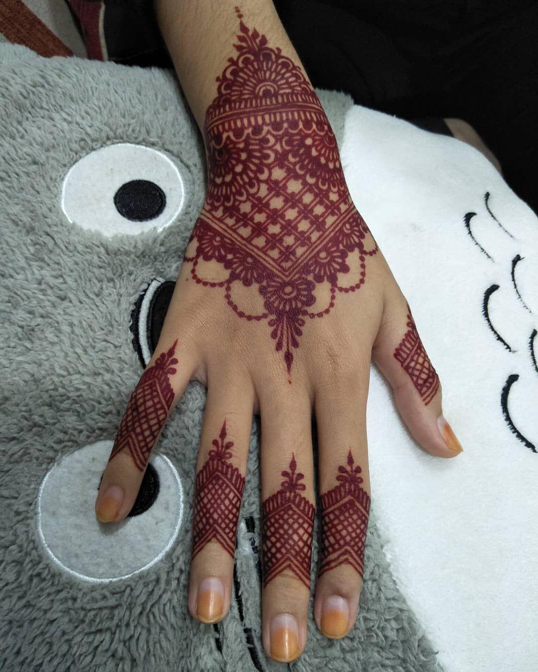 Foto Henna Pengantin Terbaru