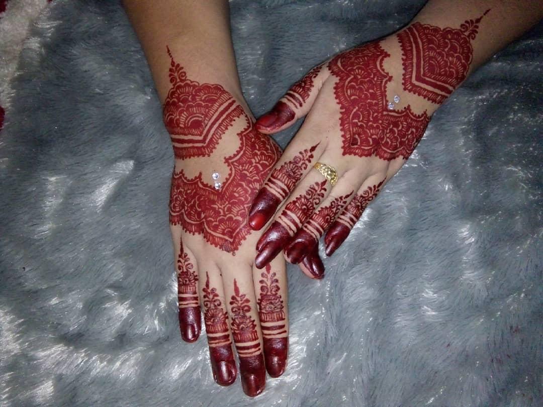 Gambar Henna Pengantin Modern