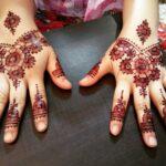 Gambar Henna Tangan Terbaru