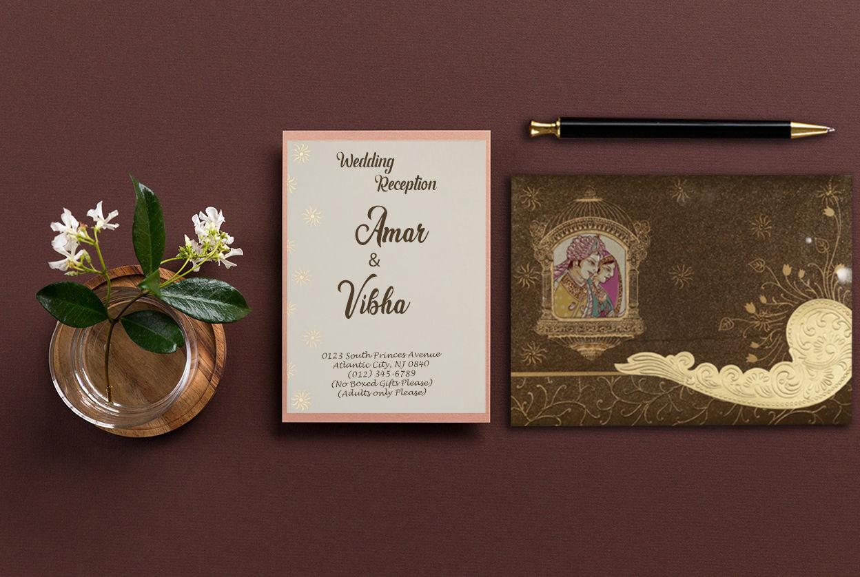 Gambar Undangan Pernikahan Bahasa Inggris