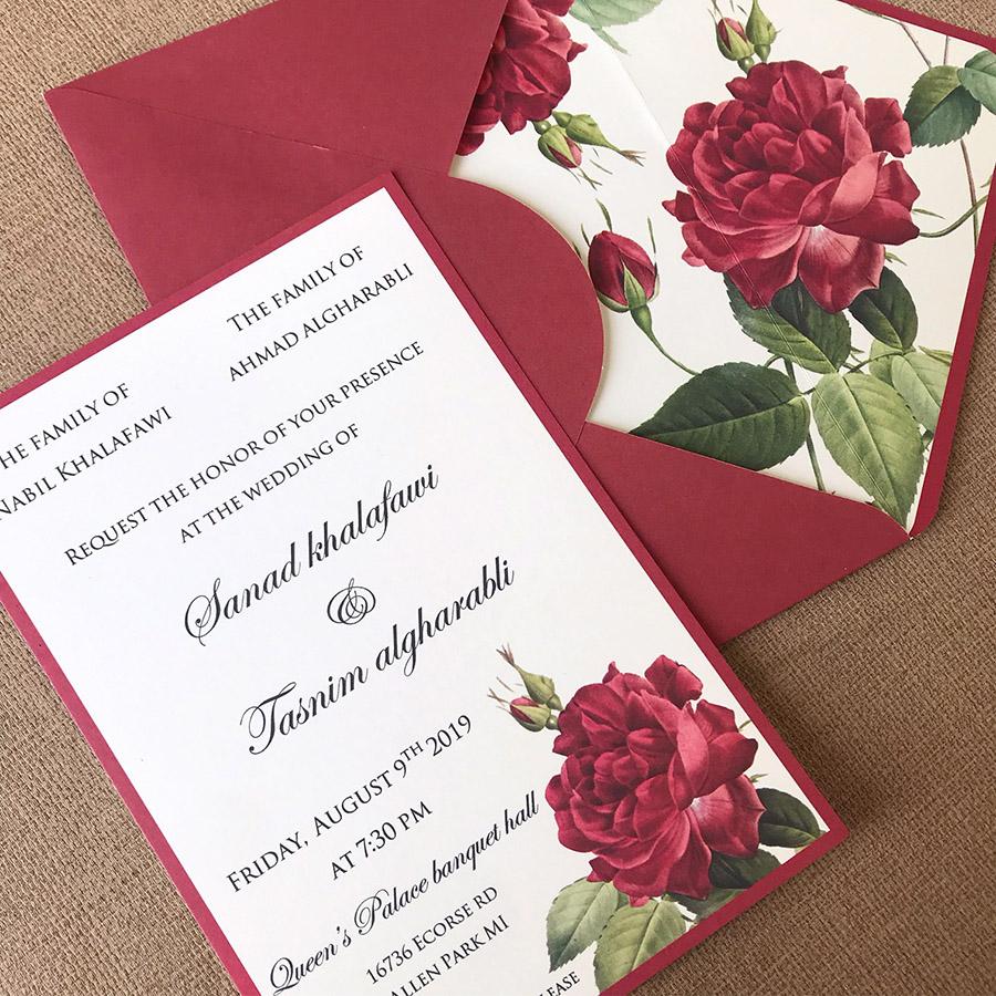 Gambar Undangan Pernikahan Unik