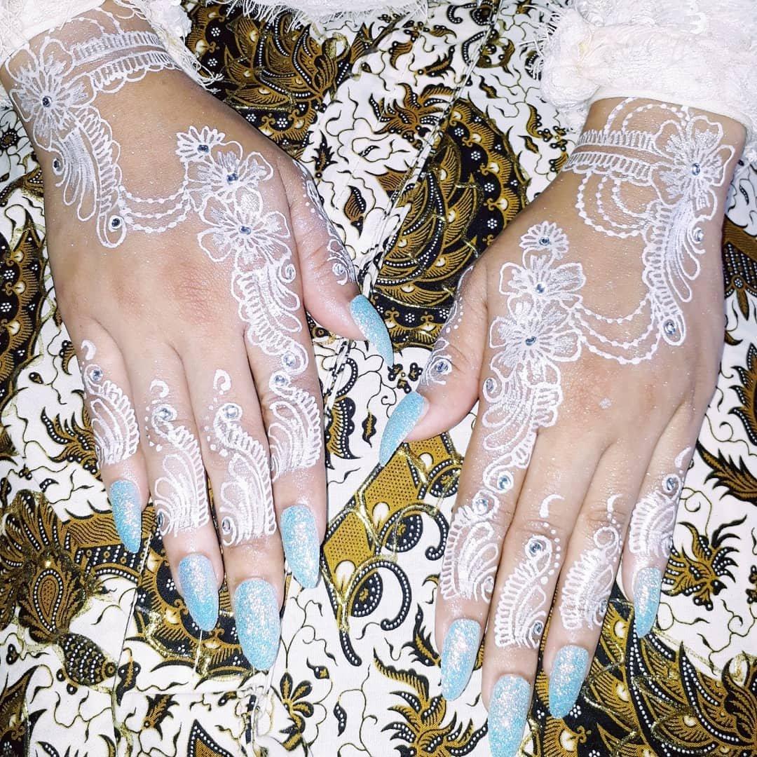Henna Pengantin Cantik Dan Simple
