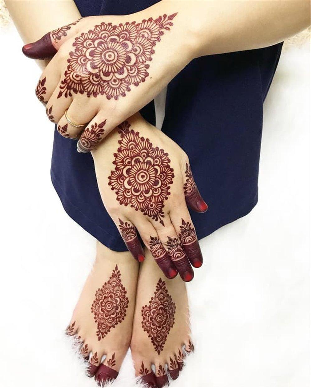 Henna Pengantin Cantik
