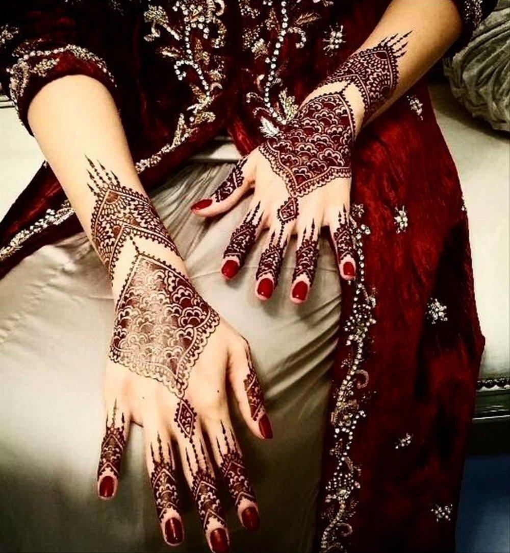 Henna Pengantin India