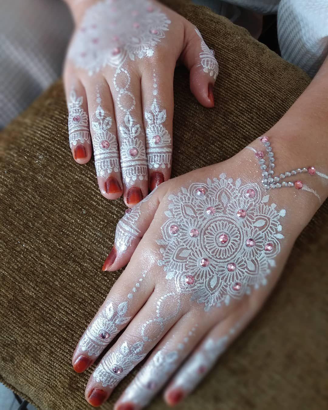 Henna Pengantin Putih
