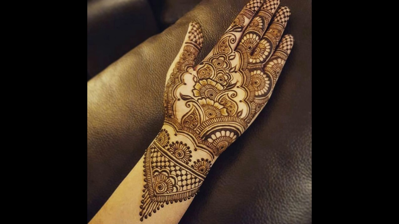 Henna Pengantin Simple Cantik