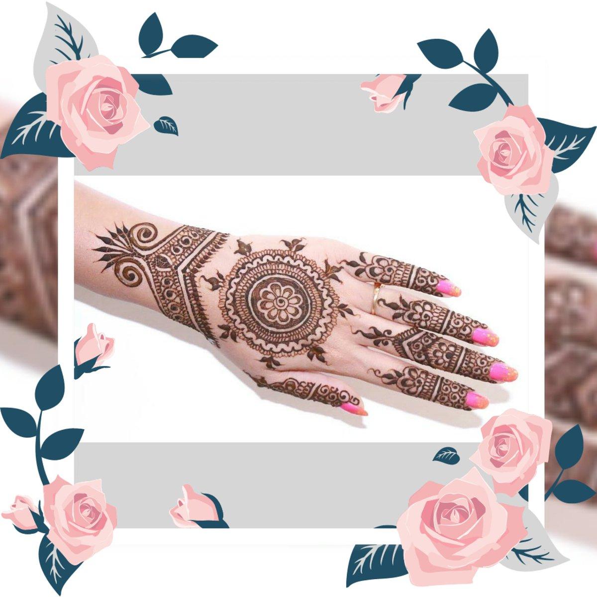Henna Pengantin Simple Tapi Cantik