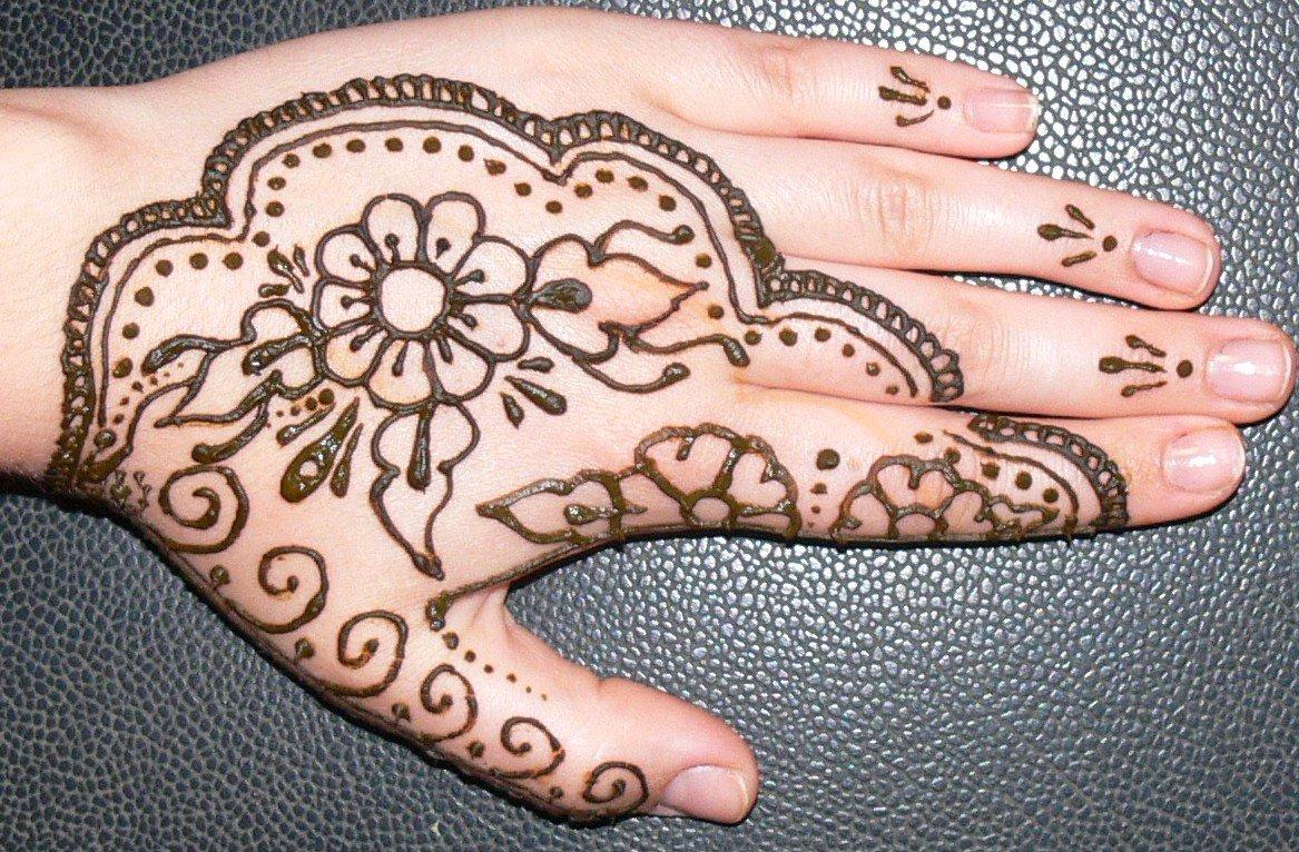 Henna Pengantin Simple