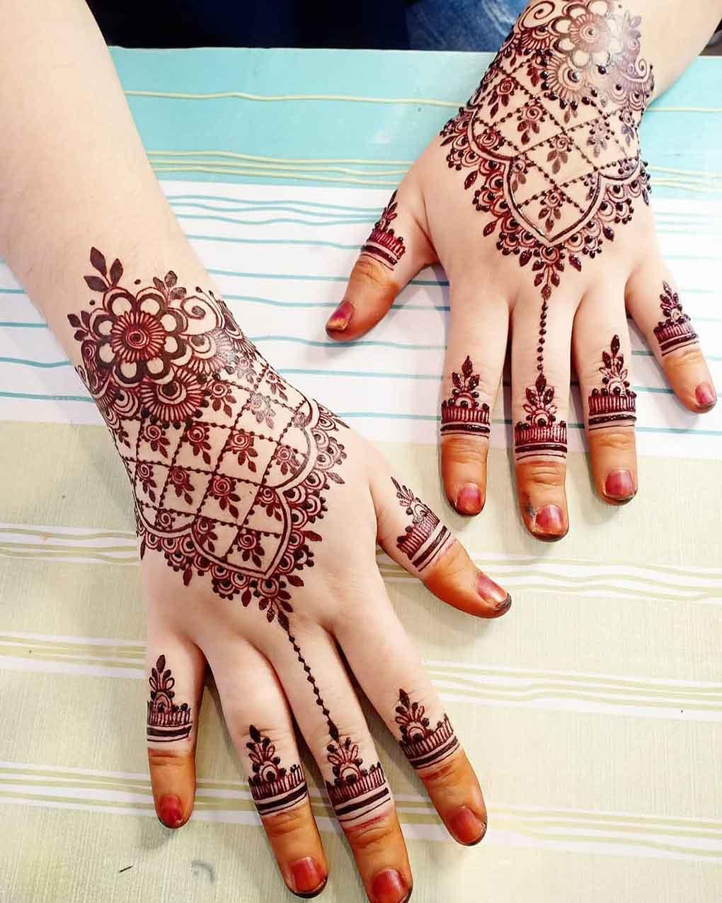 Hiasan Henna Pengantin