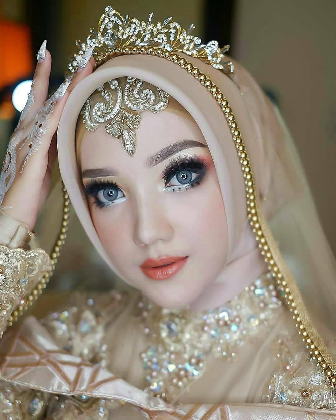 Make Up Pengantin Syar'i