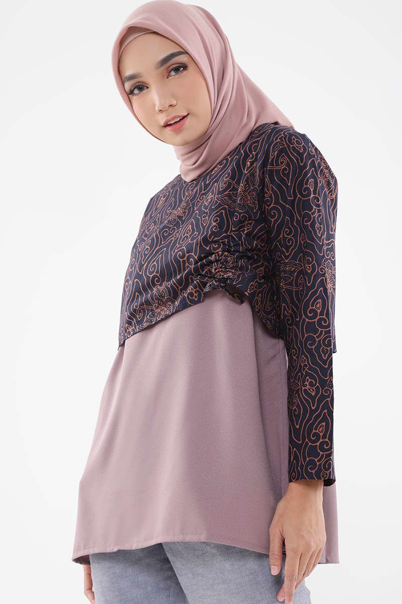 Model Baju Batik Cirebon Wanita