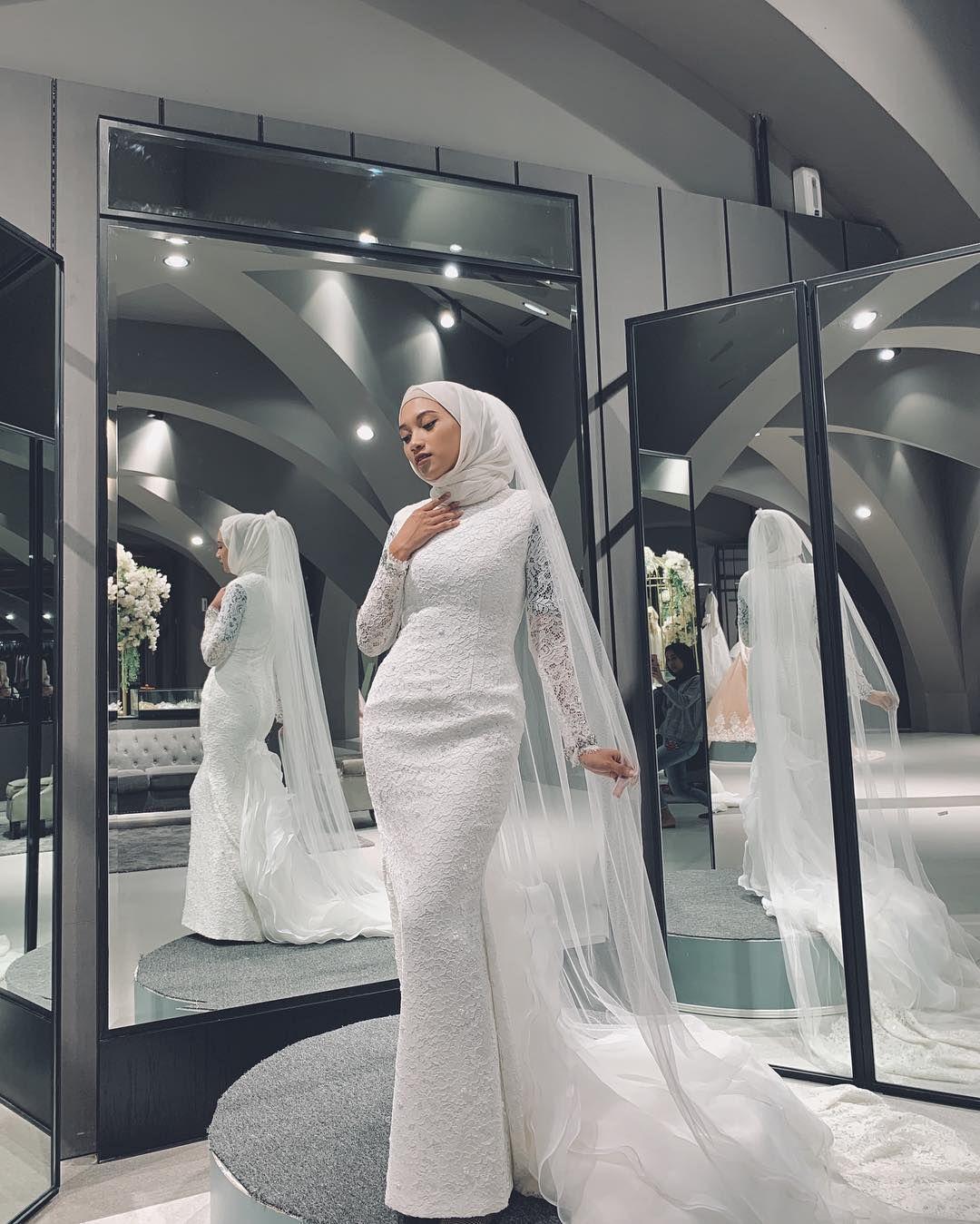 Model Gaun Pengantin Brokat