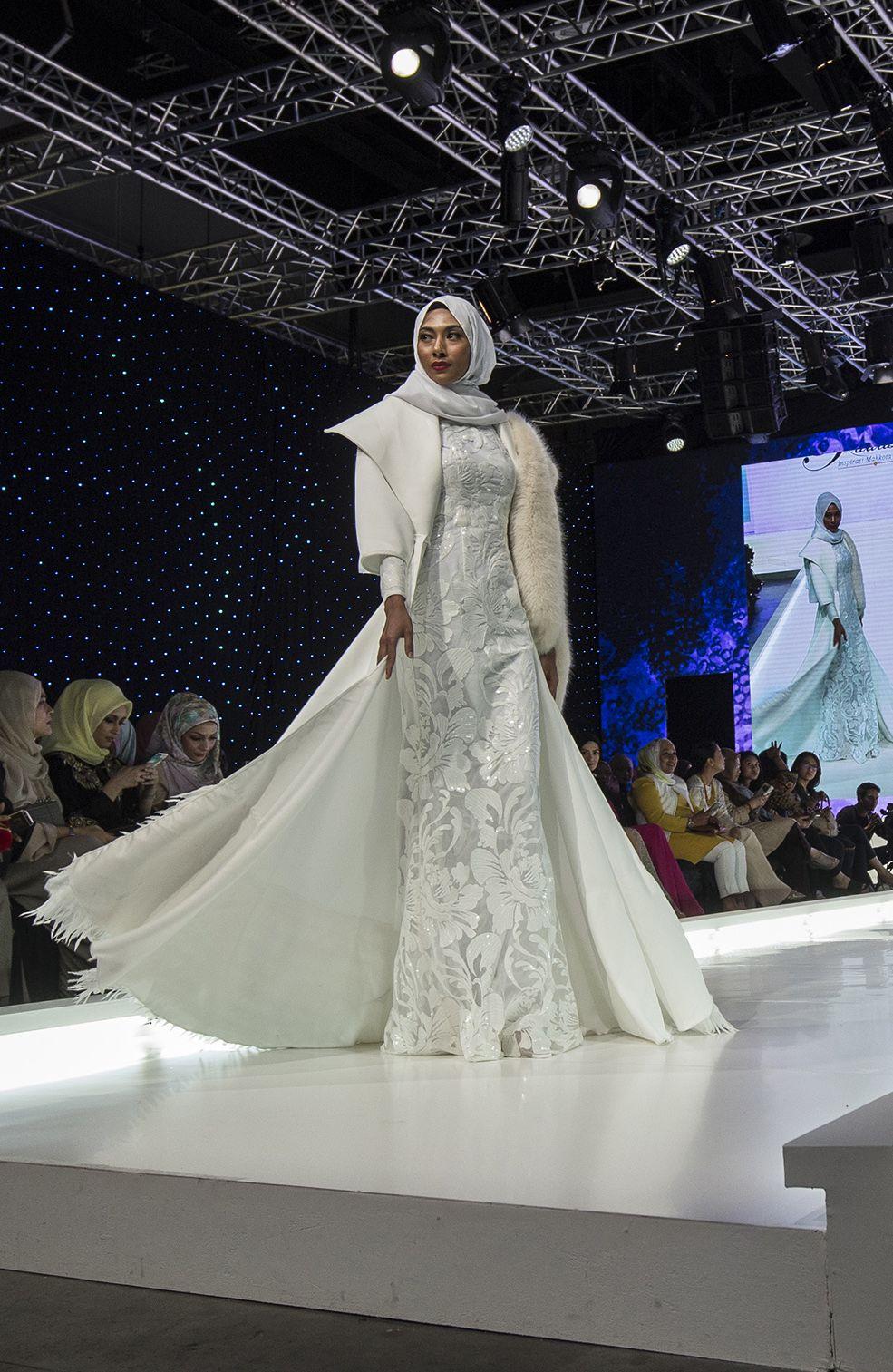 Model Gaun Pengantin Muslimah 2018
