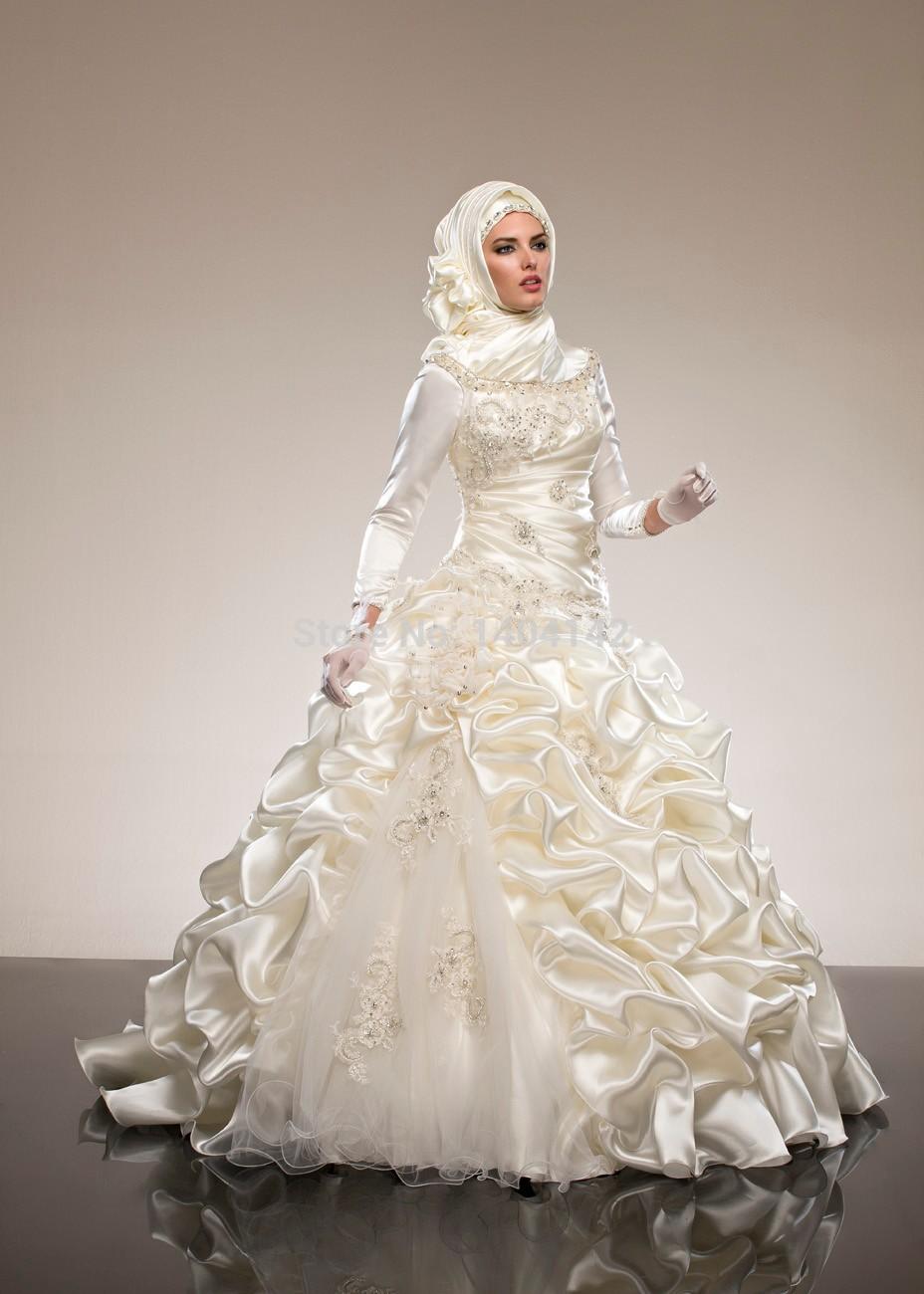 Model Gaun Pengantin Muslimah 2019
