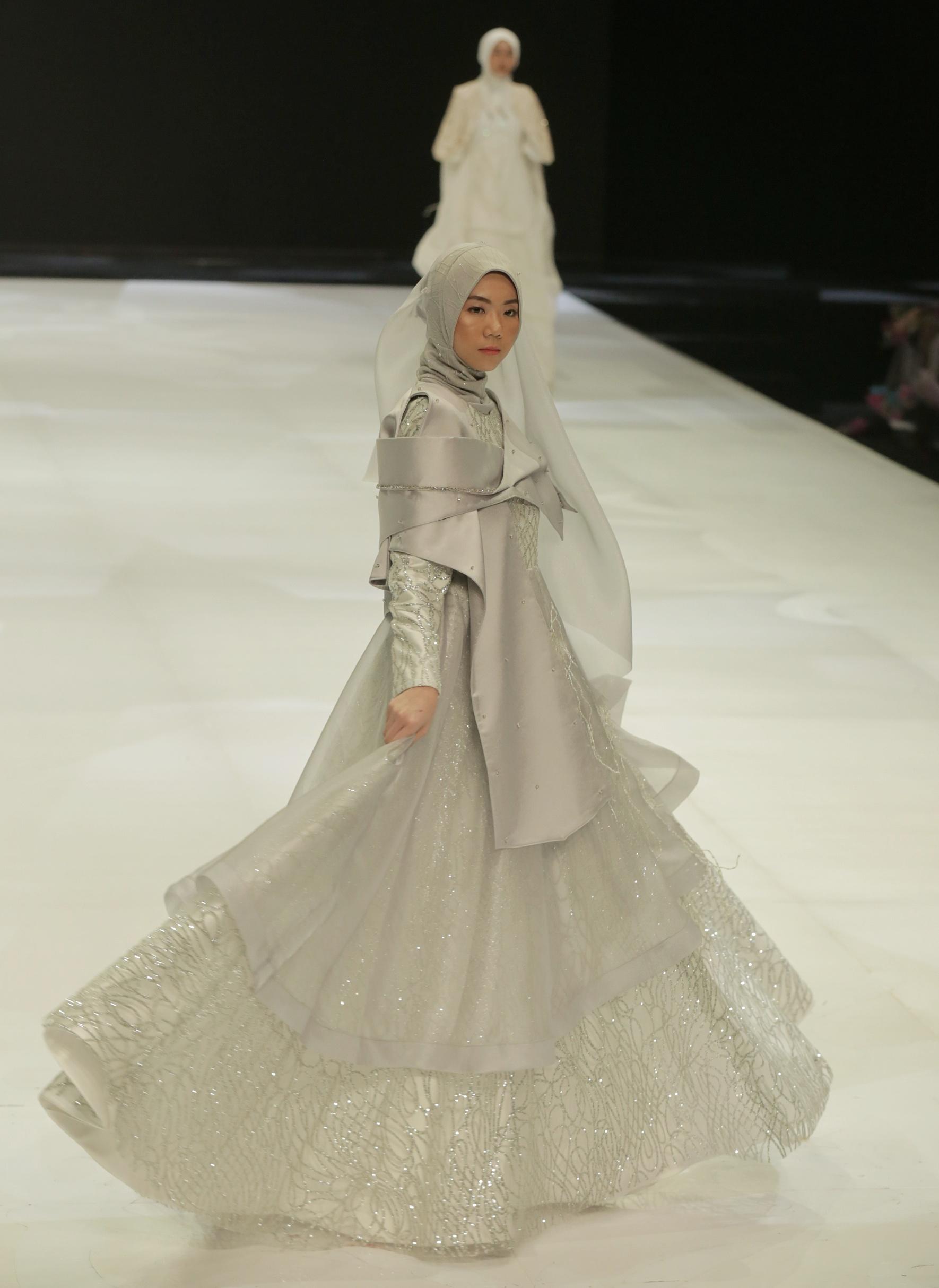 Model Gaun Pengantin Muslimah Mewah