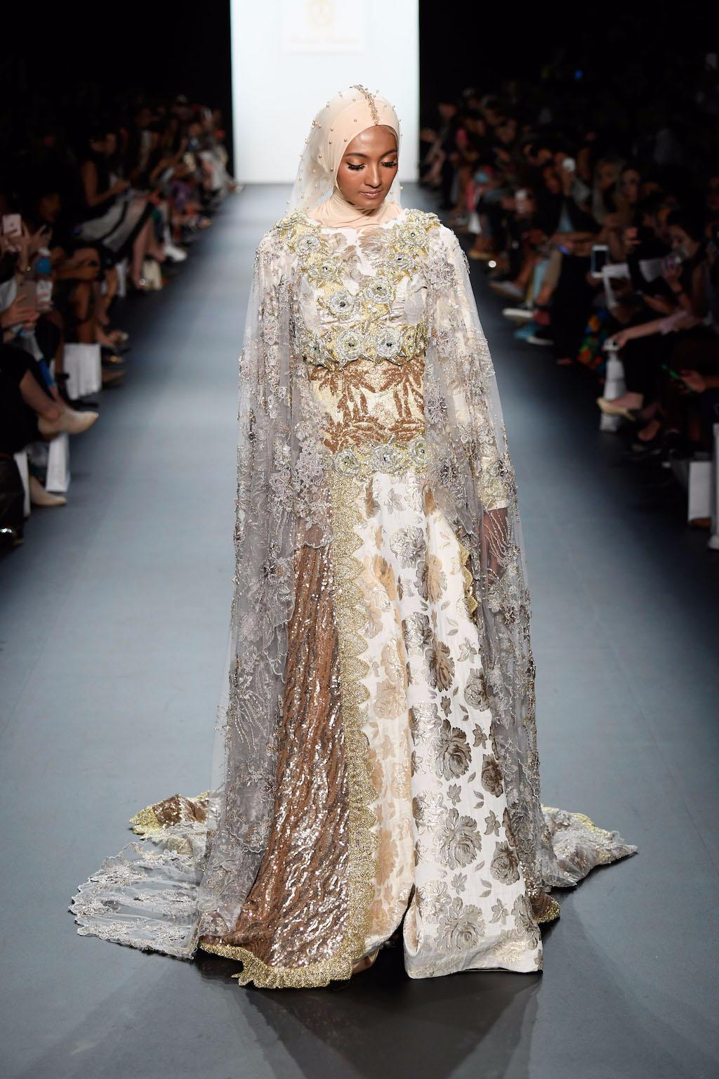 Model Gaun Pengantin Muslimah Sederhana Tapi Elegan