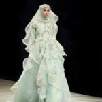 Model Gaun Pengantin Muslimah Terbaru