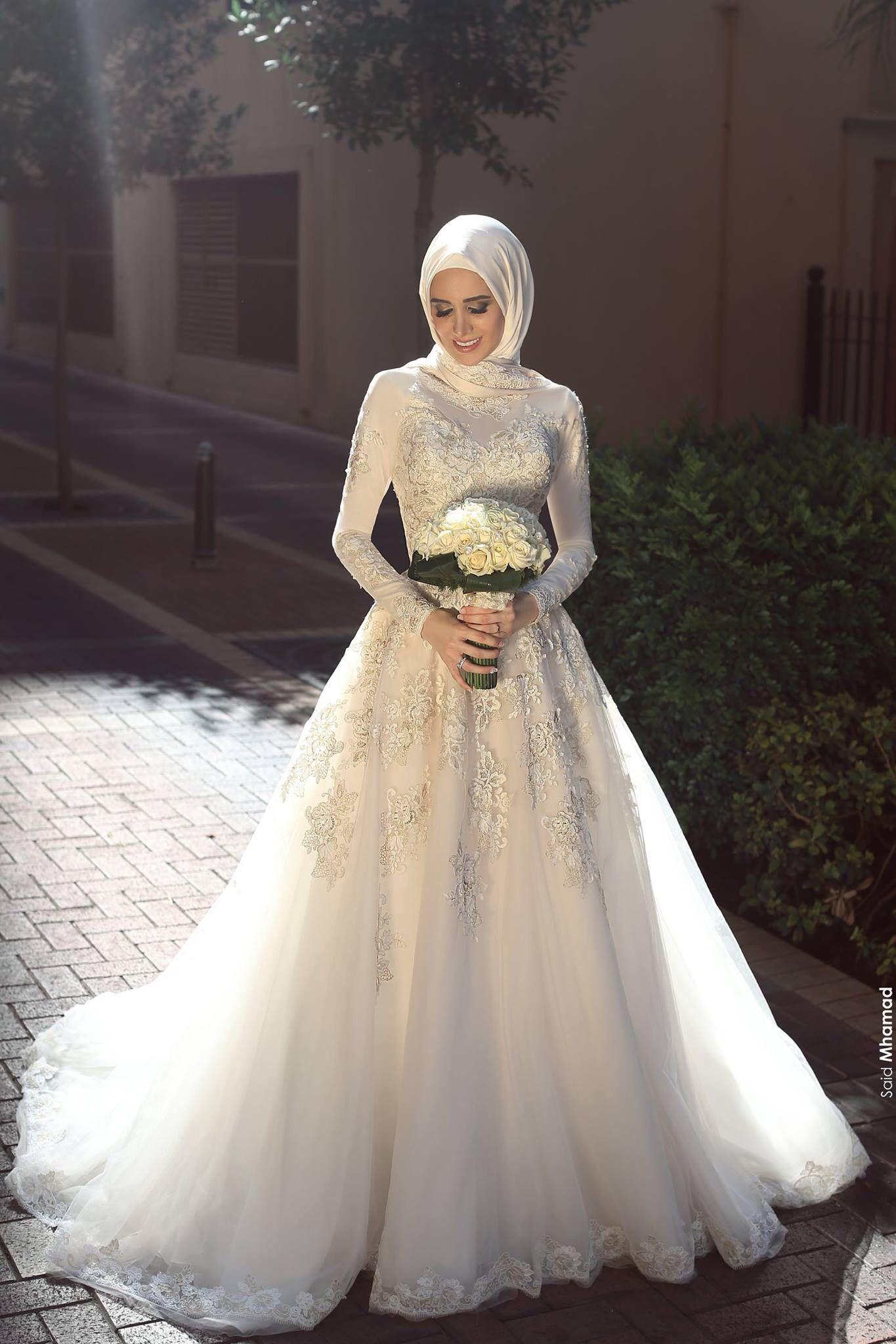 Model Gaun Pengantin Syar'i