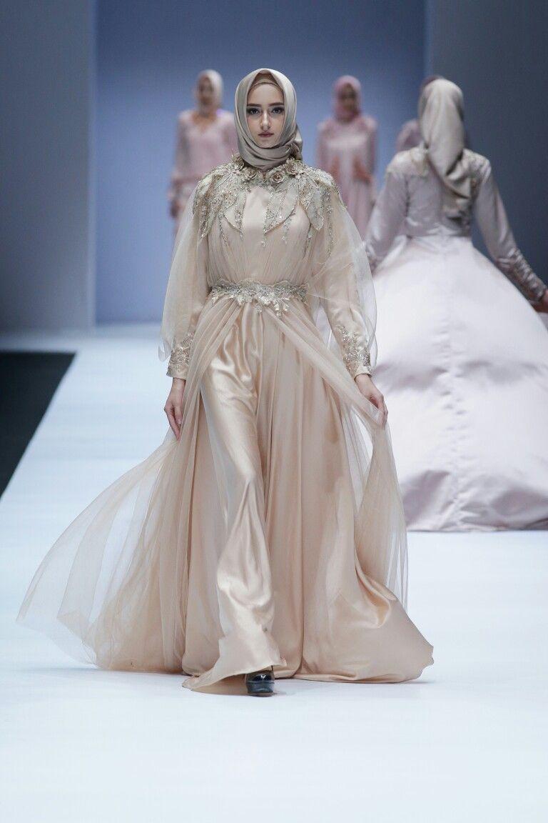 Model Gaun Pernikahan Muslimah Elegan