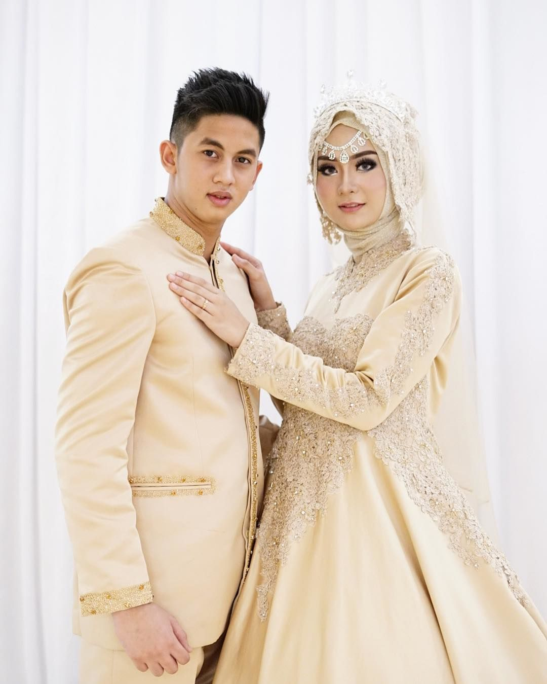 Model Gaun Wedding Muslimah