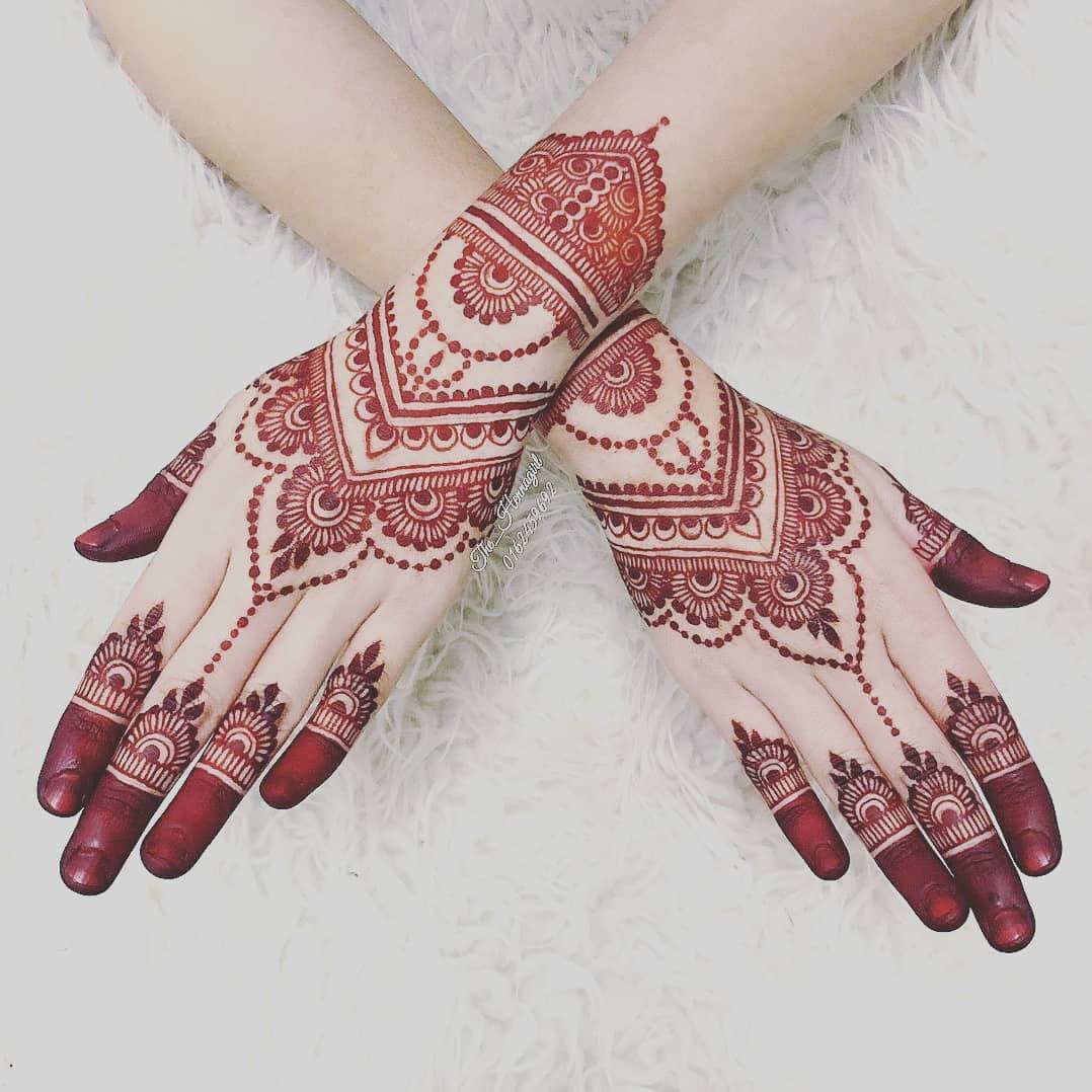 Model Henna Pengantin Cantik