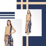 Model Setelan Batik Cirebon Asimetris