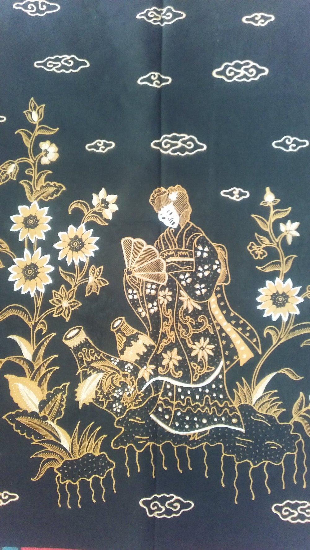 Motif Batik Cirebon Putri