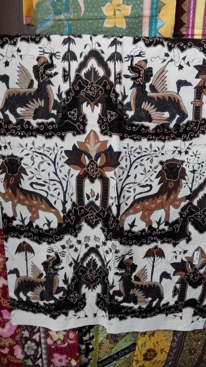 Motif Batik Singa Barong