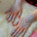 Motif Henna Pengantin Cantik