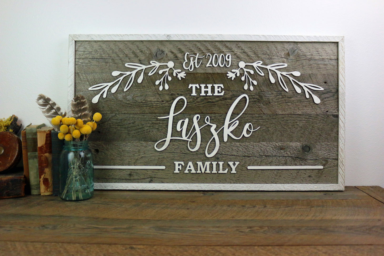 Personalized Sign untuk Rumah