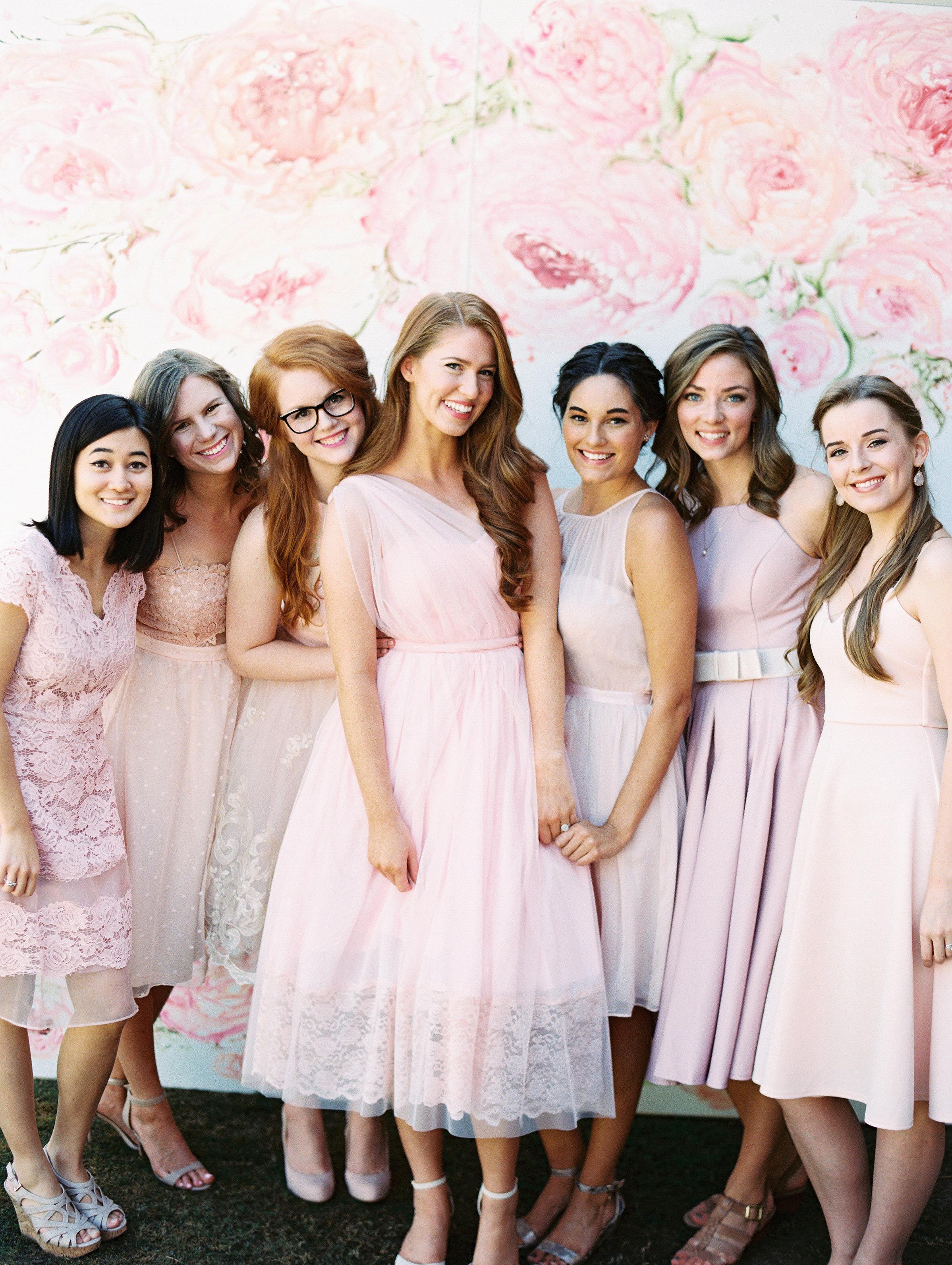 Pesta Bridal dengan Dress Manis