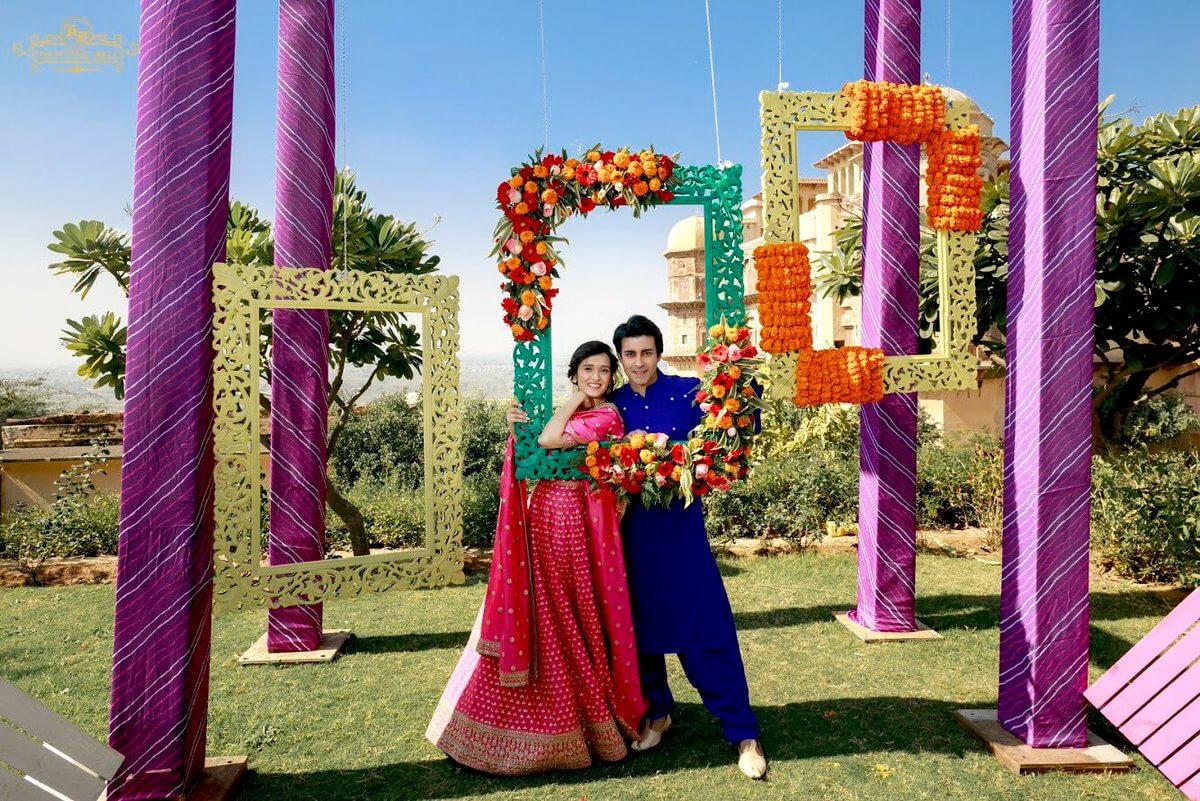 Photo Booth Wedding Backdrop
