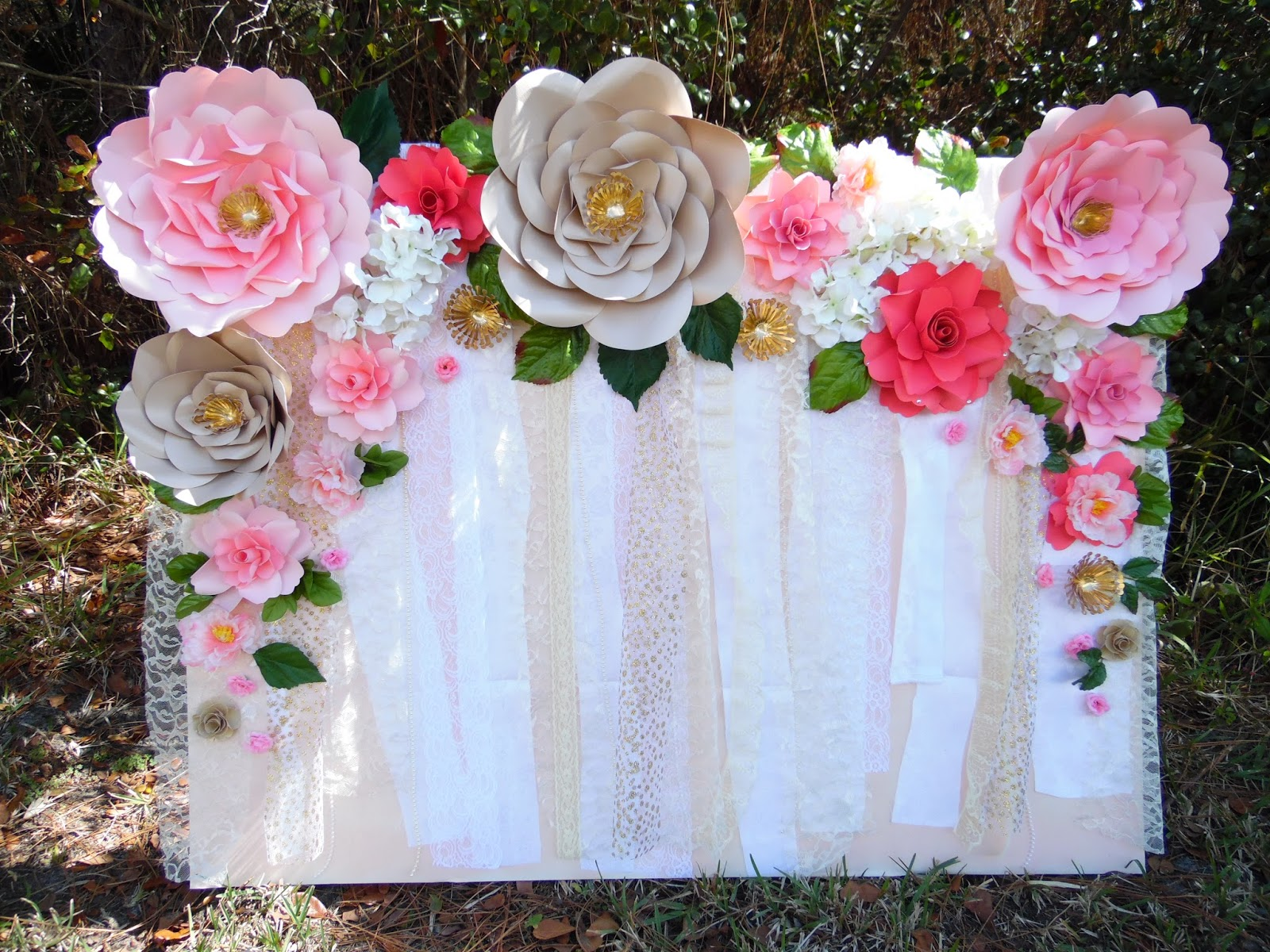 Photo Booth Wedding Background