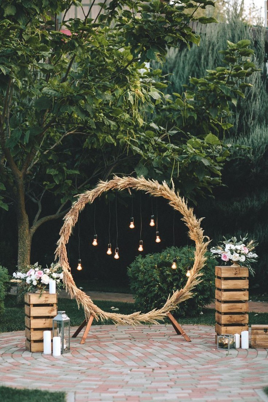 Photo Booth Wedding Decoration Simple