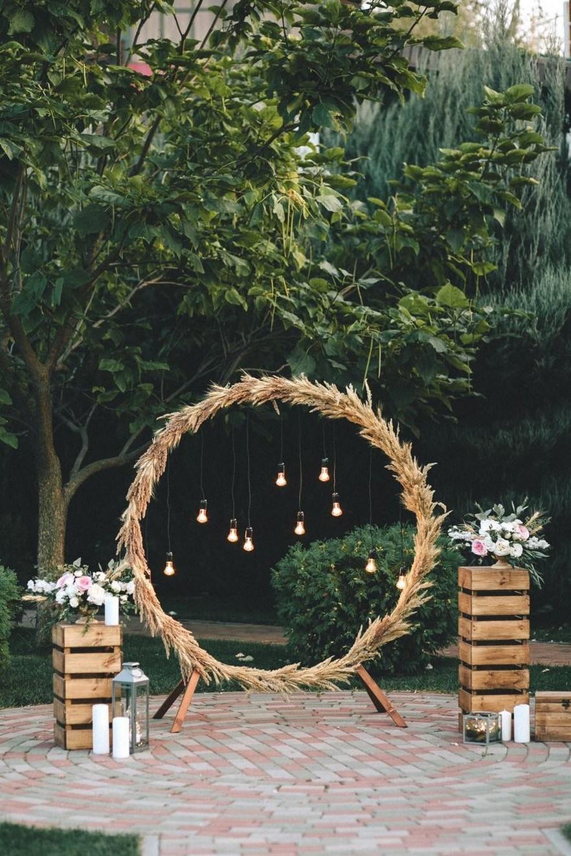 Photo Booth Wedding Decoration Simple