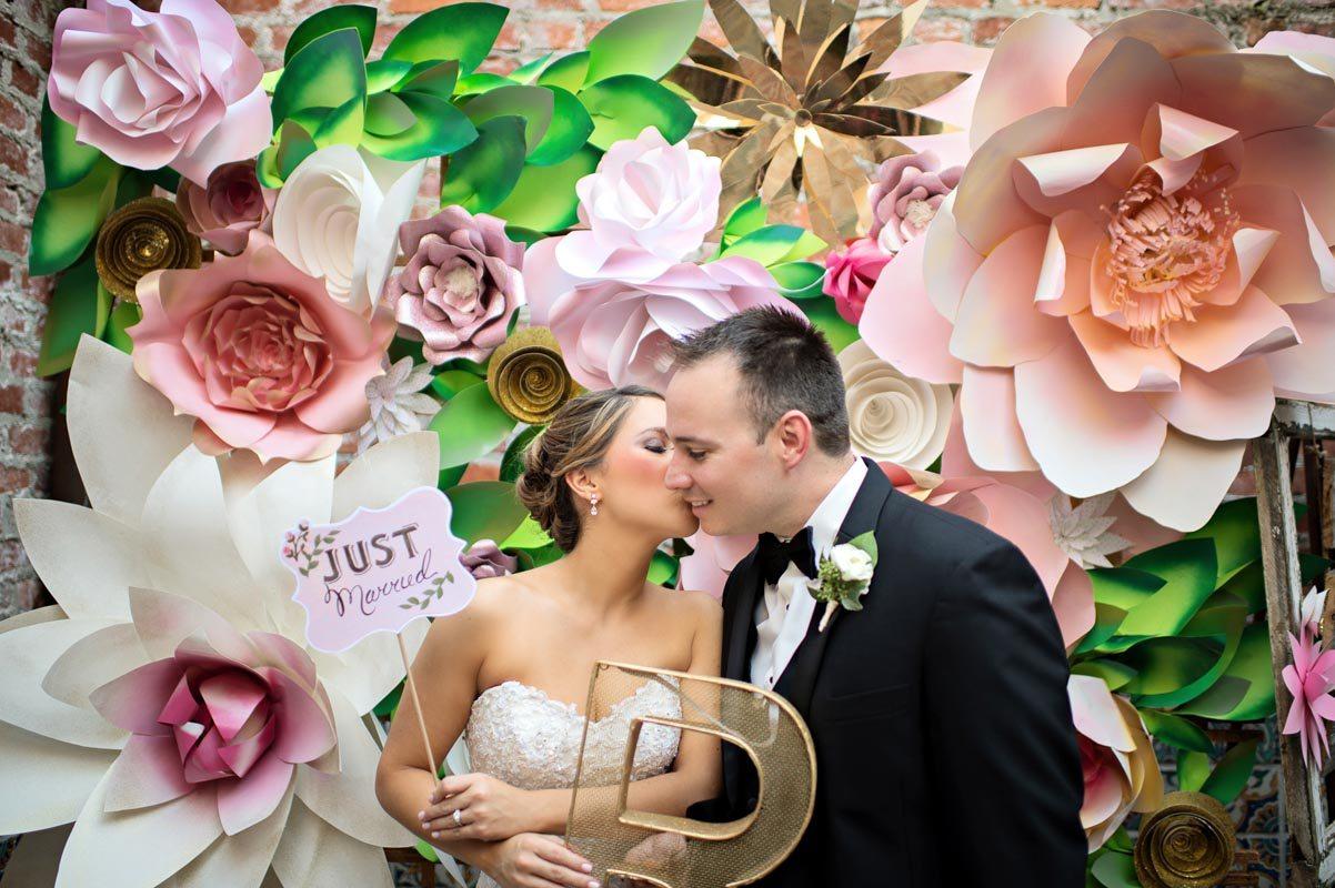 Photo Booth Wedding Rustic