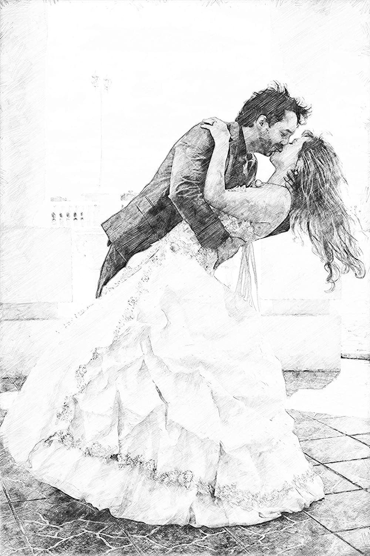 Sketsa Pernikahan
