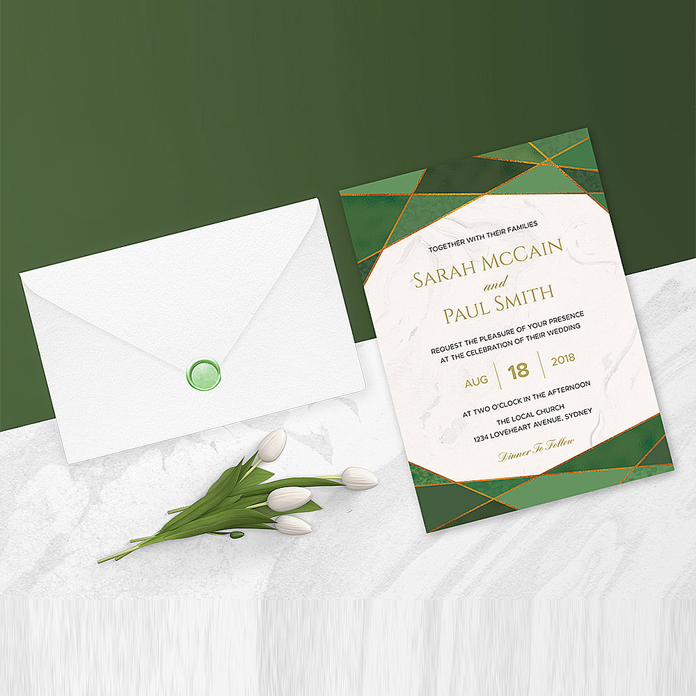 Template Undangan Pernikahan Unik