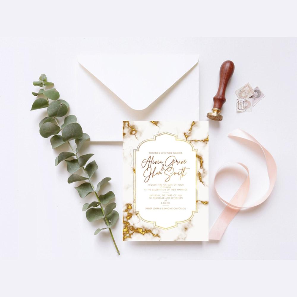 Undangan Pernikahan Unik Dan Simple