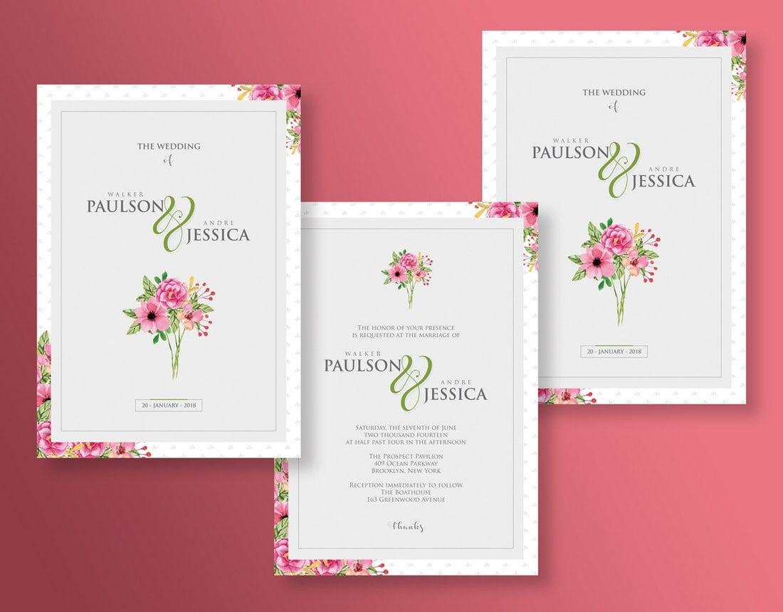 Undangan Pernikahan Unik Simple