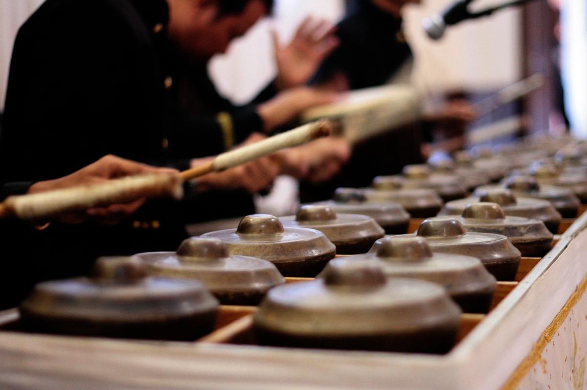 Di Iringi Oleh Alat Musik Tradisional yang Unik