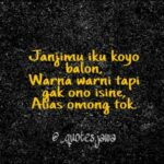 Kata Kata Sindiran Bahasa Jawa