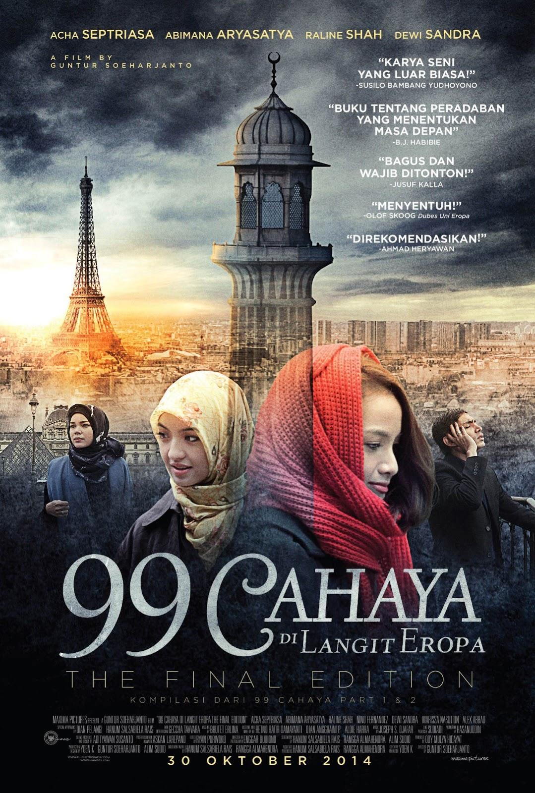 99 Cahaya di Langit Eropa