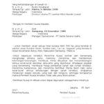 Contoh Surat Kuasa Pembelian Tanah