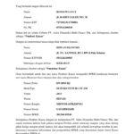 Contoh Surat Kuasa Pengambilan BPKB dari Debitur Lembaga Perkreditan