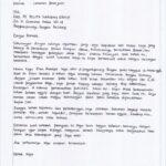 Contoh Surat Lamaran Kerja Tulis Tangan 5