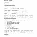 Contoh Surat Lamaran Kerja di Rumah Sakit Bagian Administrasi
